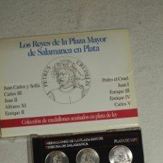 Medallas históricas: MEDALLONES DE LA PLAZA MAYOR DE SALAMANCA, REYES. Lote 182114917