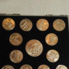 Medallas históricas: PROVINCIA DE SALAMANCA, 12 + 1 CONMEMORATIVA. Lote 182117306