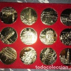 Medallas históricas: LOTE MEDALLAS MONEDAS COMISIÓN ECONÓMICA EUROPEA CEE. Lote 182972746