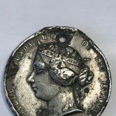 Medallas históricas: MEDALLA ISABEL II GUERRA CONTRA MARRUECOS 1859.. Lote 182990986