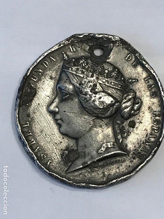 Medallas históricas: Medalla Isabel II Guerra contra Marruecos 1859. - Foto 2 - 182990986