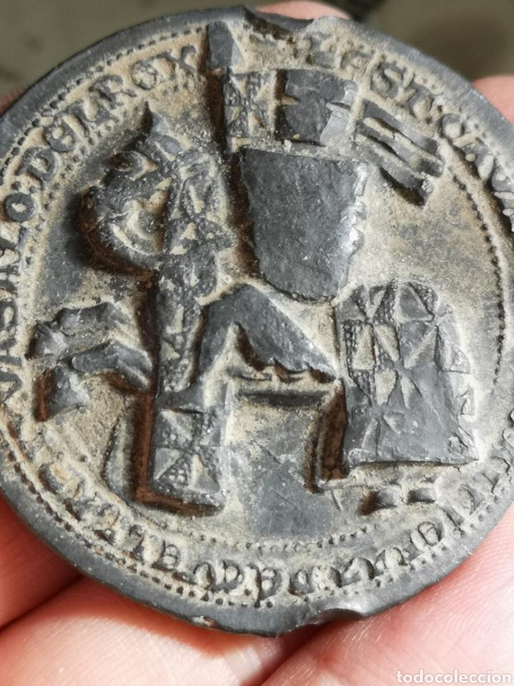 Medallas históricas: Sello de plomo Juan II 1406*1454 - Foto 3 - 183258200