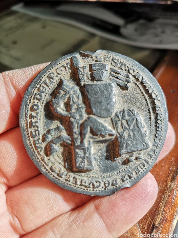 SELLO DE PLOMO JUAN II 1406*1454 (Numismática - Medallería - Histórica)