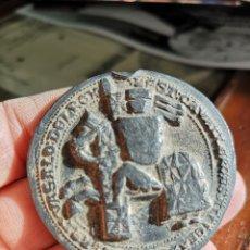 Medallas históricas: SELLO DE PLOMO JUAN II 1406*1454. Lote 183258200