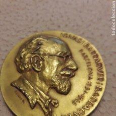 Medallas históricas: MEDALLA CONMEMORATIVA IGNASI BARRAQUER I BARRAQUER. 1884-1965. BARCELONA. Lote 183892737