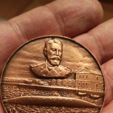 Medallas históricas: 24 SALÓN NÁUTICO INTERNACIONAL DE BARCELONA 1986 ISAAC PERAL. Lote 184574431