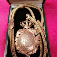 Medallas históricas: MEDALLA ANTIGUA DE LA REAL ACADEMIA DE LA HISTORIA. Lote 184774768