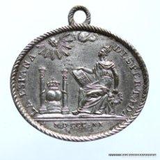Medallas históricas: CONSTITUCIONALES. 1820. FERNANDO VII , MEDALLA . Lote 184868366