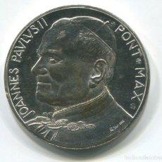 Medallas históricas: MEDALLA DEL PAPA JUAN PABLO II. 37MM. DIÁMETRO. Lote 185228142