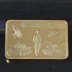 Medallas históricas: PRECIOSO LINGOTE ALEMÁN DE ORO. Lote 186015535