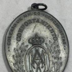 Medallas históricas: ANTIGUA MEDALLA COLEGIO MM CONCEPCIONISTAS PRINCESA MADRID AL COMPORTAMIENTO. Lote 187508477