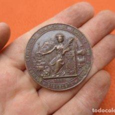 Medallas históricas: * ANTIGUA MEDALLA DE MANO DE LA EXPOSICION DE BARCELONA DE 1888, ORIGINAL. ZX. Lote 189299177
