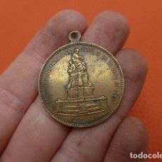 Medallas históricas: * ANTIGUA MEDALLA DEL CENTENARIO DE CALDERON DE LA BARCA, 1881, ORIGINAL. ZX. Lote 203785358