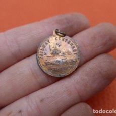 Medallas históricas: * ANTIGUA MEDALLA DEL CENTENARIO DE FERROCARRIL O TREN, 1925, EXTRANJERA, ORIGINAL. ZX. Lote 189301025