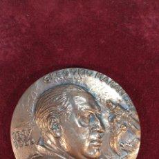 Medallas históricas: GRAN MEDALLA EN BRONCE DE GREGORIO MARAÑÓN. 1887-1960. FIRMADA. 237 G. 8 CM. DIÁMETRO.. Lote 189302865