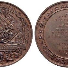 Medallas históricas: 1888. LA ACADEMIA DE LA LENGUA PREMIA A FREDERICH SOLER. BRONCE. J. MORATÓ/ E. CANIBELL SC-.. Lote 189743462