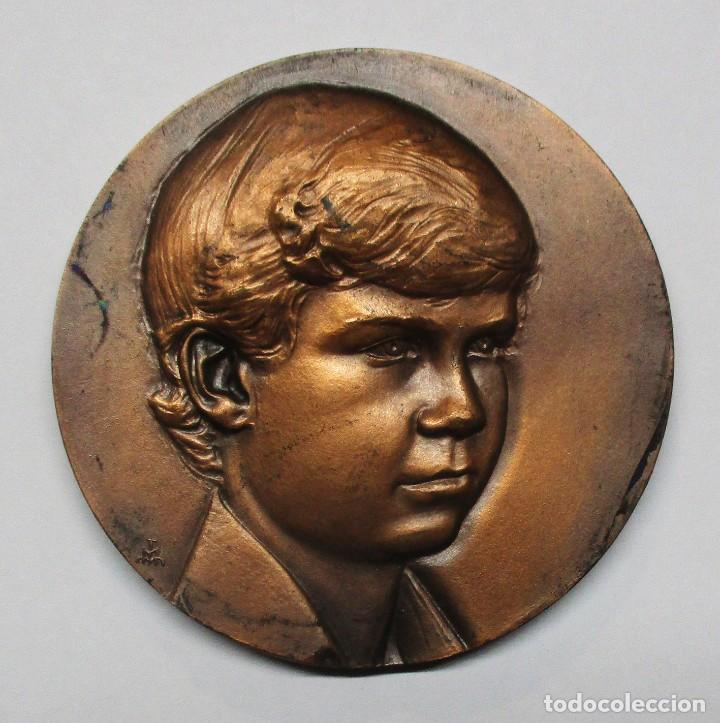 MEDALLA FELIPE DE BORBON - PRINCIPE DE ASTURIAS 1977 - LOTE 0101 (Numismática - Medallería - Histórica)