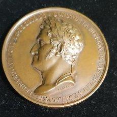Medallas históricas: MEDALLA RESTABLECIMIENTO DE LA CONSTITUCIÓN DE CÁDIZ.1820. Lote 191268088