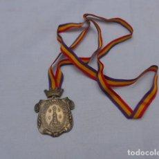 Medallas históricas: * ANTIGUA RARA MEDALLA DE PLATA CIUDAD DE ALICANTE, REPUBLICANA. REPUBLICA O GUERRA CIVIL. ZX. Lote 191373916