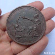 Medallas históricas: * ANTIGUA MEDALLA DE MANO DE ESPAÑA EN PARIS, 1878, FRANCIA. ORIGINAL. ZX. Lote 191375447