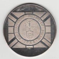 Medallas históricas: MEDALLA DEL CAMPEONATO MUNDIAL DE FUTBOL- INGLATERRA 1966-PLATA 925. Lote 192636706
