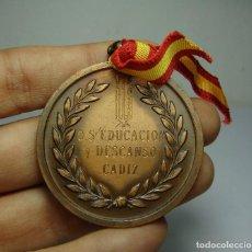 Medallas históricas: MEDALLA 1ª EXPOSICIÓN PROVINCIAL DE ARTE. CÁDIZ 1975. Lote 192826695