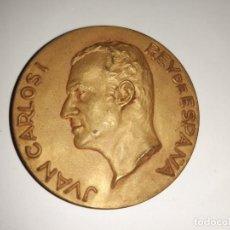 Medallas históricas: MEDALLA, PRIMERA VISITA OFICIAL DE SS.MM. ELS REIS D´ESPANYA A BARCELONA 1976. Lote 192882536