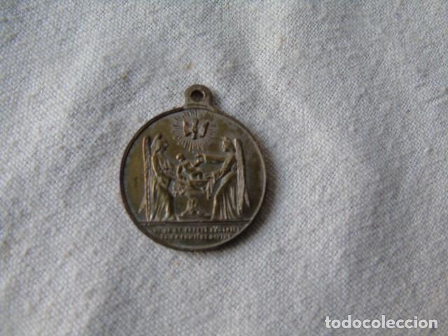 Medallas históricas: medalla 1856 bautismo napoleon eugene louis jean joseph baptisé en l eglise notre dame paris 1856 - Foto 4 - 193341775