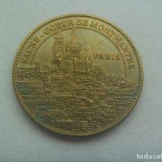 Medallas históricas: MEDALLON CATEDRALES DE FRANCIA: SACRE COEUR DE MONTMARTRE, PARIS. 2013. CATHEDRALES DE FRANCE. Lote 193837863