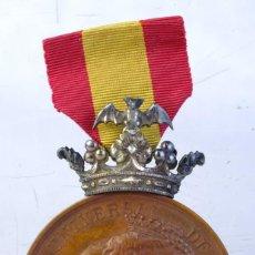 Medallas históricas: MEDALLA EN COBRE EXPOSICIÓN UNIVERSAL DE BARCELONA 1888 - 50 MM. Lote 194148566