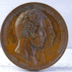 Medallas históricas: MEDALLA EN COBRE INCHOAVIT. LVDOVICVS. XVIII. CAROLVS. X. ABSOLVIT 1825 - 30 MM. Lote 194149113
