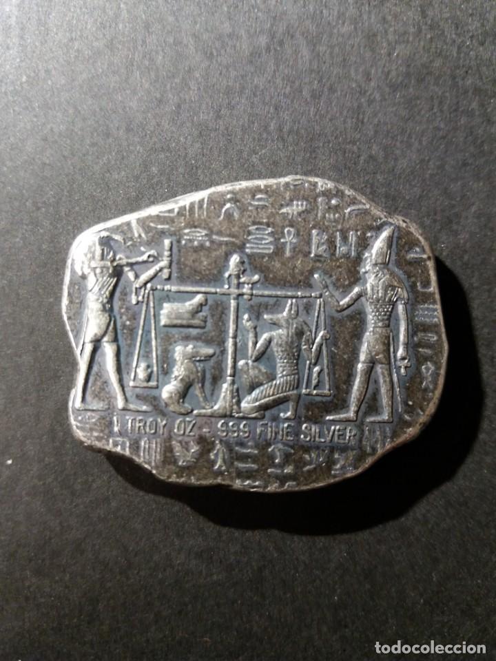 ARTE EGIPCIO - EGIPTO - 1 ONZA DE PLATA .999 (Numismática - Medallería - Histórica)