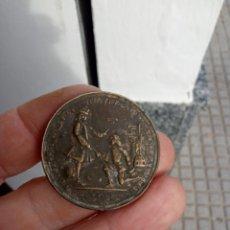 Medallas históricas: MEDALLA ALMIRANTE VERNON BLAS DE LEZO 1739. Lote 194247871