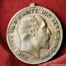 Medallas históricas: GRAN BRETAÑA MEDALLA EDWARD VII 1909. Lote 194254295