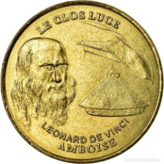 Medallas históricas: FRANCIA, TOKEN, JETÓN TURÍSTICO, AMBOISE - LE CLOS LUCÉ, ARTS & CULTURE. Lote 194690575