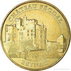 Medallas históricas: FRANCIA, TOKEN, JETÓN TURÍSTICO, 24/ CHÂTEAU FÉODAL DE BEYNAC, ARTS &. Lote 194690893