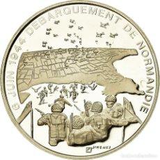 Medallas históricas: FRANCIA, MEDALLA, DÉBARQUEMENT DE NORMANDIE, HISTORY, XXTH CENTURY, JIMENEZ. Lote 194745316