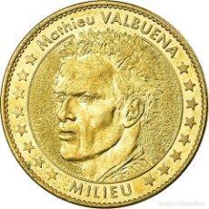 Medallas históricas: FRANCIA, TOKEN, JETÓN TURÍSTICO, OM - DROIT AU BUT - MATHIEU VALBUENA, ARTS &. Lote 194746138