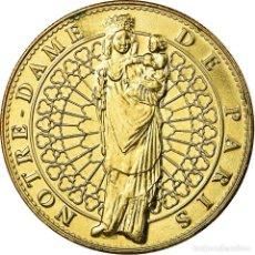 Medallas históricas: FRANCIA, TOKEN, JETÓN TURÍSTICO, PARIS - NOTRE DAME - VIERGE À L'ENFANT, ARTS. Lote 194746661