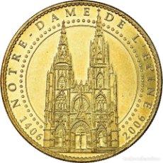 Medallas históricas: FRANCIA, TOKEN, JETÓN TURÍSTICO, L'EPINE - CATHÉDRALE, ARTS & CULTURE, 2006. Lote 194748156