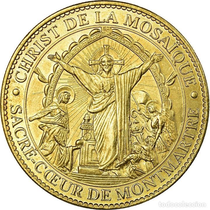 FRANCIA, TOKEN, JETÓN TURÍSTICO, PARIS - SACRÉ COEUR N°2, ARTS & CULTURE (Numismática - Medallería - Histórica)