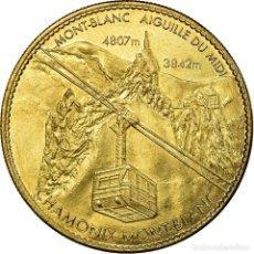 Medallas históricas: FRANCIA, TOKEN, JETÓN TURÍSTICO, CHAMONIX - AIGUILLE DU MIDI -. Lote 194749792