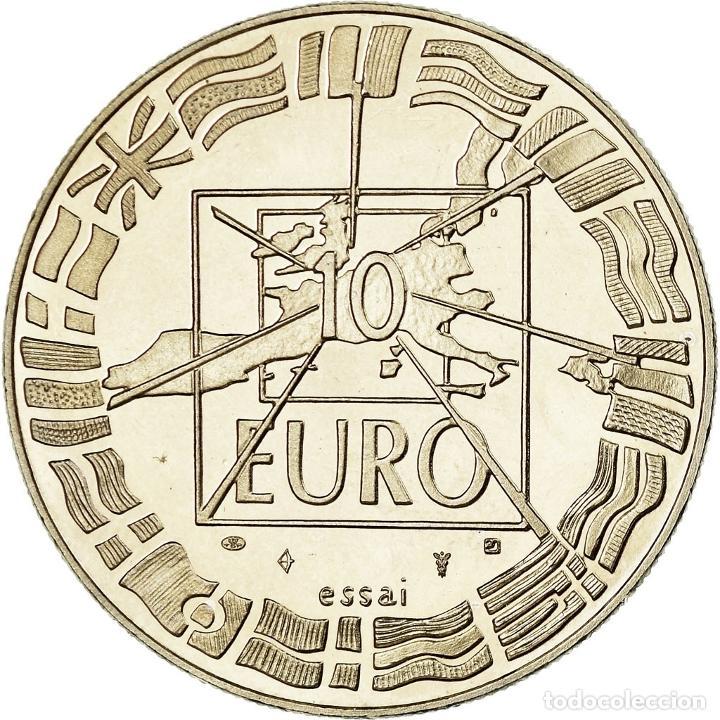 Medallas históricas: Francia, medalla, French Fifth Republic, Politics, Society, War, 1998, SC - Foto 2 - 194753922