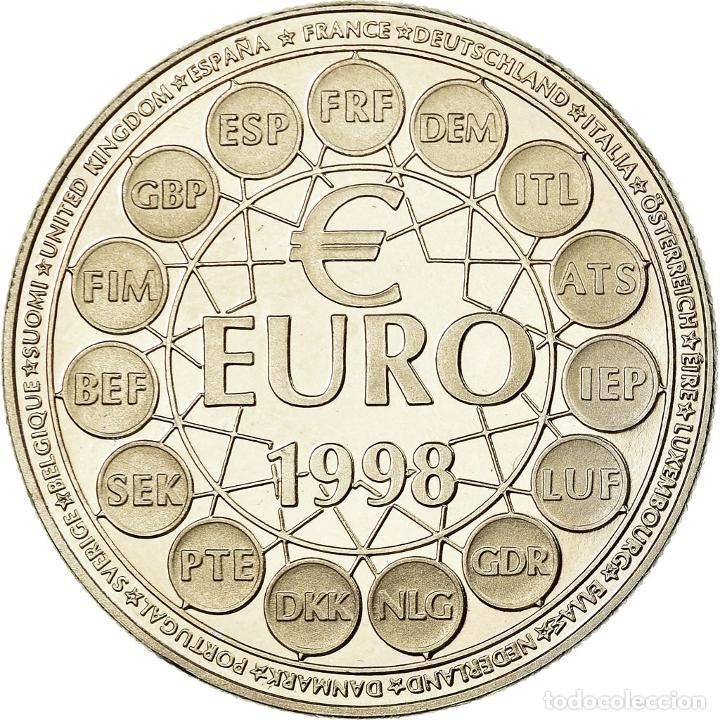 FRANCIA, MEDALLA, FRENCH FIFTH REPUBLIC, POLITICS, SOCIETY, WAR, 1998, SC (Numismática - Medallería - Histórica)