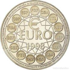 Medallas históricas: FRANCIA, MEDALLA, FRENCH FIFTH REPUBLIC, POLITICS, SOCIETY, WAR, 1998, SC. Lote 194753922