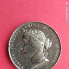 Medallas históricas: ANTIGUA MEDALLA AÑO 1859 ISABEL SEGUNDA REINA DE LAS ESPAÑAS , GUERRA DE AFRICA CONTRA MARRUECOS. Lote 194776487