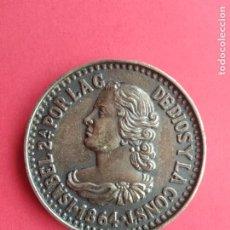 Medallas históricas: ANTIGUA MEDALLA AÑO 1864 ISABEL 2 SEGUNDA POR LA GRACIAS DE DIOS Y LA CONSTITUCION. Lote 194776630