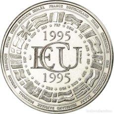 Medallas históricas: FRANCIA, MEDALLA, ÉCU EUROPA 1995, FRENCH FIFTH REPUBLIC, POLITICS, SOCIETY. Lote 194883165