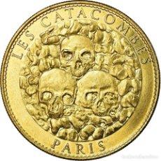 Medallas históricas: FRANCIA, TOKEN, JETÓN TURÍSTICO, 75/ PARIS - LES CATACOMBES, ARTS & CULTURE. Lote 194890776