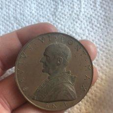 Medallas históricas: BONITA MEDALLA PAPAL ANTIGUA. Lote 194932682